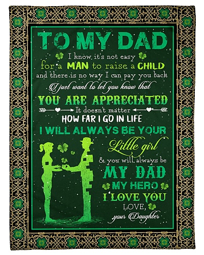 TO MY DAD - SHAMROCK - YOU ARE APPRECIATED