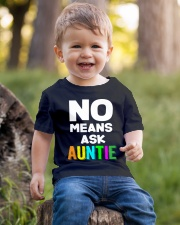 No means ask auntie Youth T-Shirt lifestyle-youth-tshirt-front-4