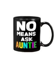 No means ask auntie Mug thumbnail