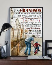Grandpa to Grandson - I Will Always Love You 16x24 Poster lifestyle-poster-2