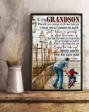 Grandpa to Grandson - I Will Always Love You 16x24 Poster lifestyle-poster-3