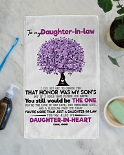 MOM TO DAUGHTER IN LAW Hand Towel aos-towelhands-front-lifestyle-02