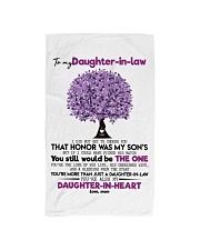 MOM TO DAUGHTER IN LAW Hand Towel front