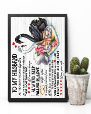 TO MY HUSBAND - SWAN - I LOVE YOU 16x24 Poster lifestyle-poster-8