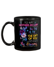TO MY MOTHER-IN-LAW - FLOWER - THANK YOU Mug back