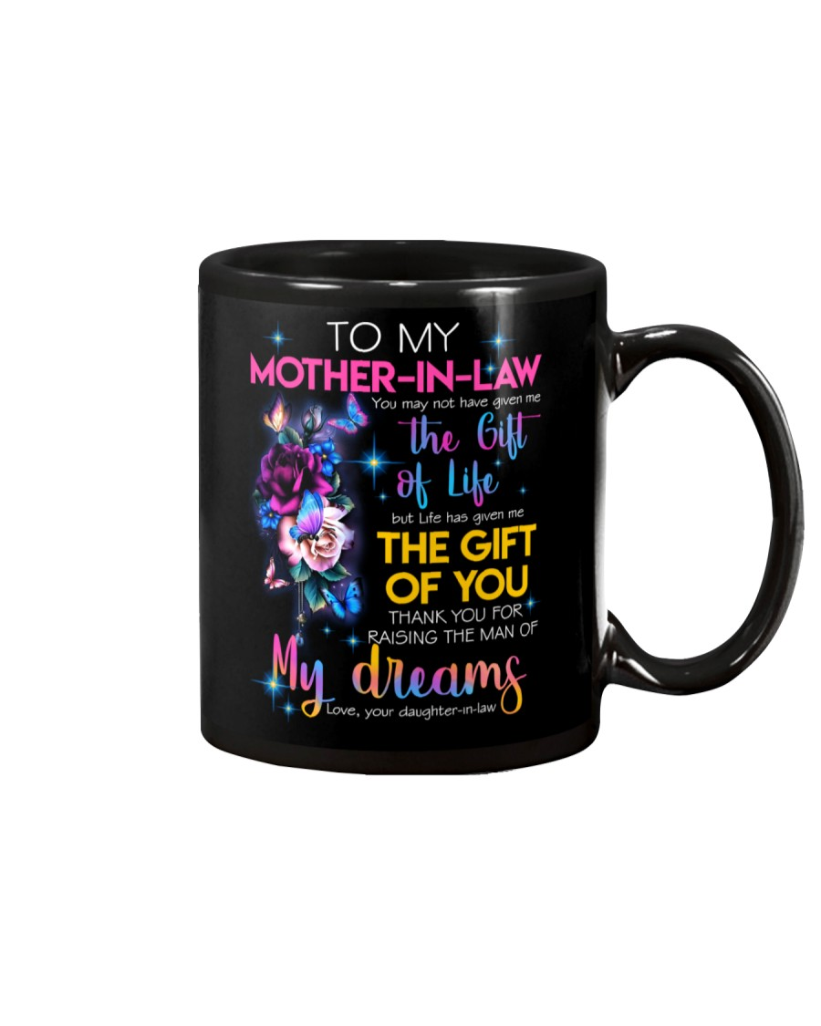 TO MY MOTHER-IN-LAW - FLOWER - THANK YOU Mug