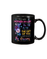TO MY MOTHER-IN-LAW - FLOWER - THANK YOU Mug front