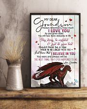 TO MY GRANDSON - DRAGONS - I LOVE YOU 16x24 Poster lifestyle-poster-3
