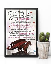 TO MY GRANDSON - DRAGONS - I LOVE YOU 16x24 Poster lifestyle-poster-8