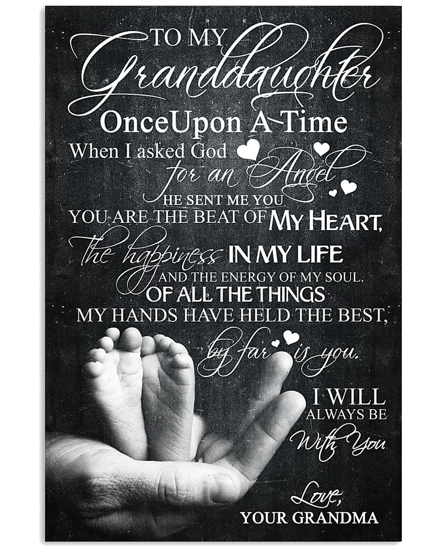 GRANDMA TO GRANDDAUGHTER 16x24 Poster