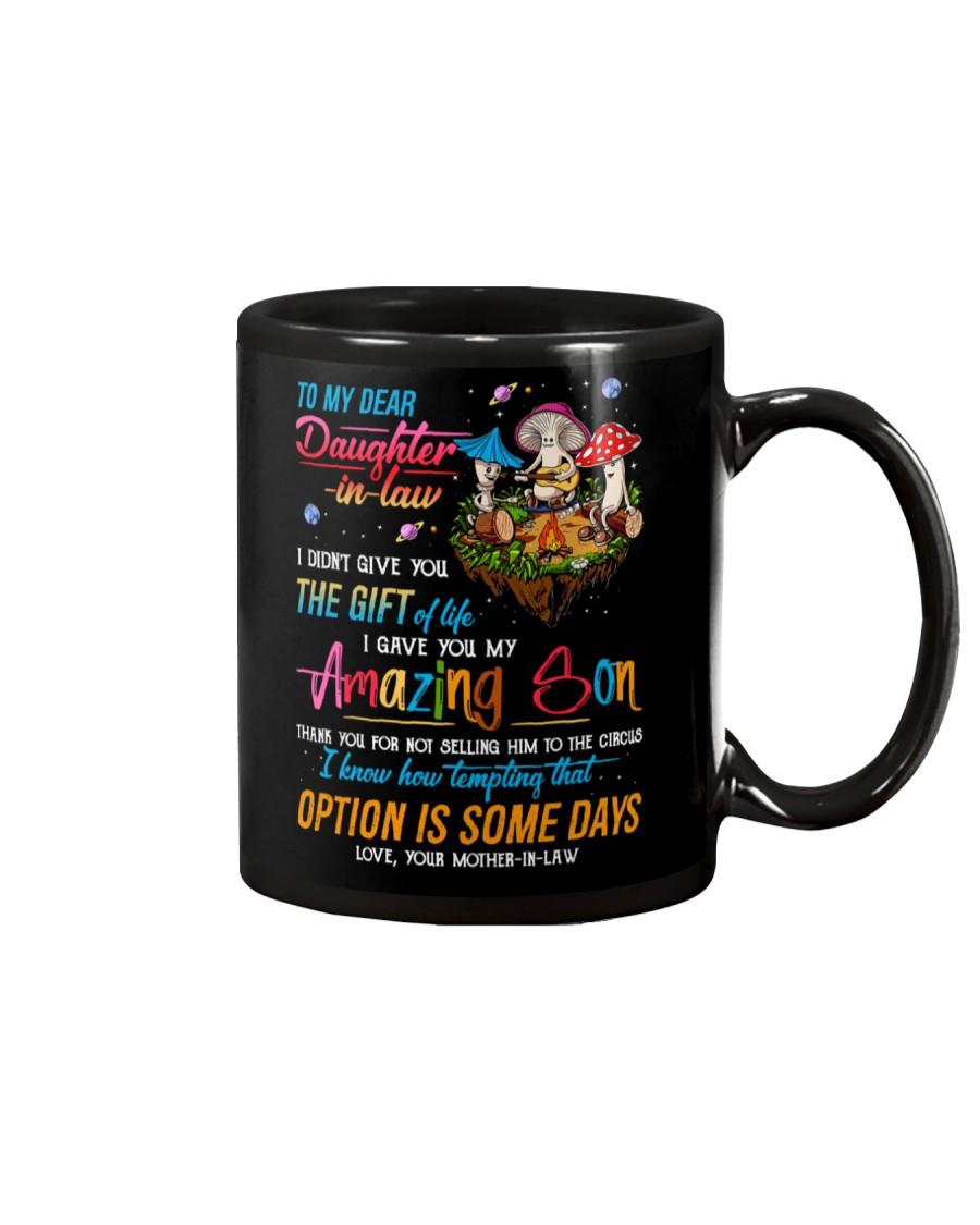 MUG - TO MY DAUGHTER-IN-LAW - MUSHROOM - CIRCUS Mug