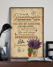 Grandma to Granddaughter - You Are My Sunshine 16x24 Poster lifestyle-poster-2
