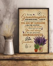 Grandma to Granddaughter - You Are My Sunshine 16x24 Poster lifestyle-poster-3