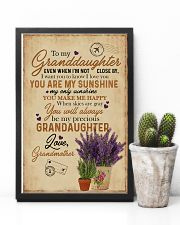 Grandma to Granddaughter - You Are My Sunshine 16x24 Poster lifestyle-poster-8