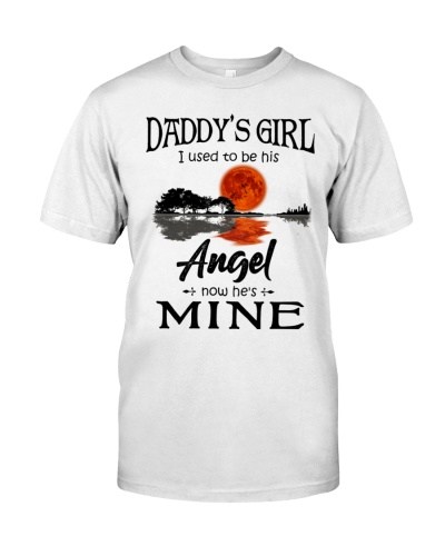 DAUGHTER SHIRT - TO MY ANGEL DAD - GUITAR