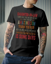 T-SHIRT - DAUGHTER-IN-LAW - VINTAGE - CIRCUS Classic T-Shirt lifestyle-mens-crewneck-front-6