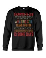 T-SHIRT - DAUGHTER-IN-LAW - VINTAGE - CIRCUS Crewneck Sweatshirt thumbnail