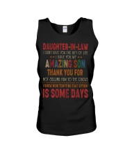 T-SHIRT - DAUGHTER-IN-LAW - VINTAGE - CIRCUS Unisex Tank thumbnail