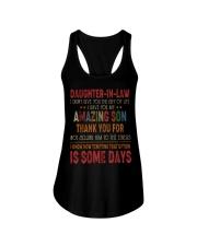 T-SHIRT - DAUGHTER-IN-LAW - VINTAGE - CIRCUS Ladies Flowy Tank thumbnail