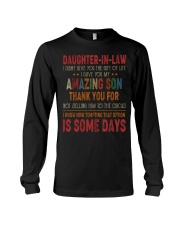 T-SHIRT - DAUGHTER-IN-LAW - VINTAGE - CIRCUS Long Sleeve Tee thumbnail