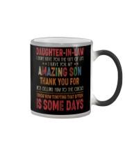T-SHIRT - DAUGHTER-IN-LAW - VINTAGE - CIRCUS Color Changing Mug thumbnail