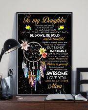 TO MY DAUGHTER - DREAM CATCHER - THINGS MAY BE 16x24 Poster lifestyle-poster-2
