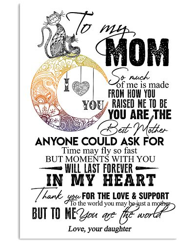TO MY MOM - CAT - THANK YOU