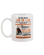 MUG - TO MY SON-IN-LAW - EAGLE - CIRCUS Mug back