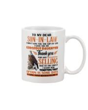 MUG - TO MY SON-IN-LAW - EAGLE - CIRCUS Mug front