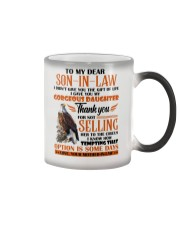 MUG - TO MY SON-IN-LAW - EAGLE - CIRCUS Color Changing Mug thumbnail