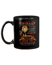 To My Son-in-law - Lion - Thank You - Mug Mug back
