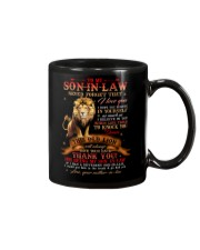 To My Son-in-law - Lion - Thank You - Mug Mug front