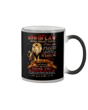 To My Son-in-law - Lion - Thank You - Mug Color Changing Mug thumbnail