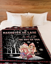 "Christmas - To My Daughter-in-law - Hippie Large Fleece Blanket - 60"" x 80"" aos-coral-fleece-blanket-60x80-lifestyle-front-02"
