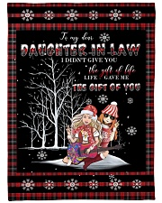 "Christmas - To My Daughter-in-law - Hippie Large Fleece Blanket - 60"" x 80"" front"