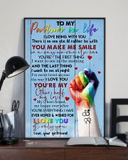 TO MY PARTNER IN LIFE 16x24 Poster lifestyle-poster-2