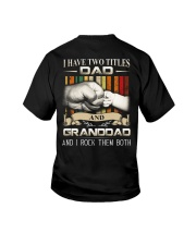 TWO TITLES - DAD - ROCK Youth T-Shirt thumbnail