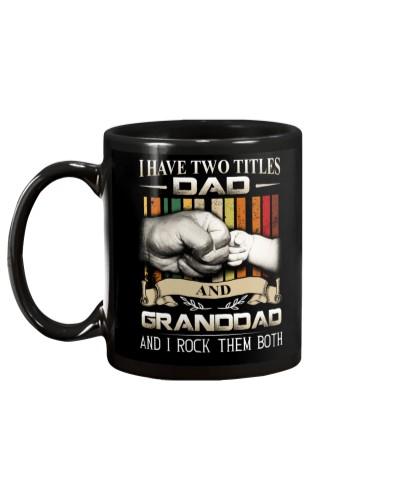 TWO TITLES - DAD - ROCK