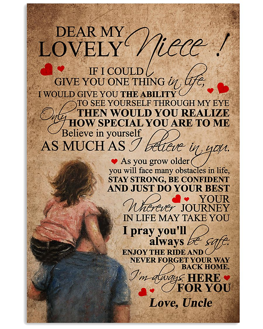 UNCLE TO NIECE 16x24 Poster