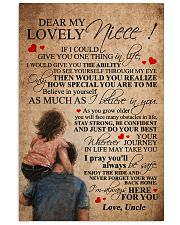 UNCLE TO NIECE 16x24 Poster front