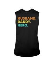 Husband Daddy Hero Sleeveless Tee thumbnail