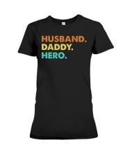 Husband Daddy Hero Premium Fit Ladies Tee thumbnail