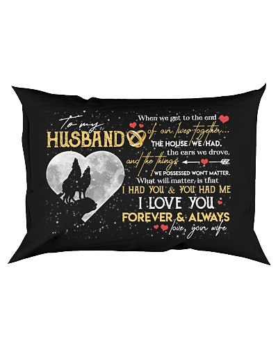 TO MY HUSBAND - WOLF - LOVE YOU