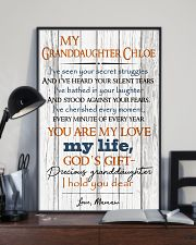 TO MY GRANDDAUGHTER  16x24 Poster lifestyle-poster-2