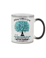 DAUGHTER TO FATHER IN LAW Color Changing Mug tile