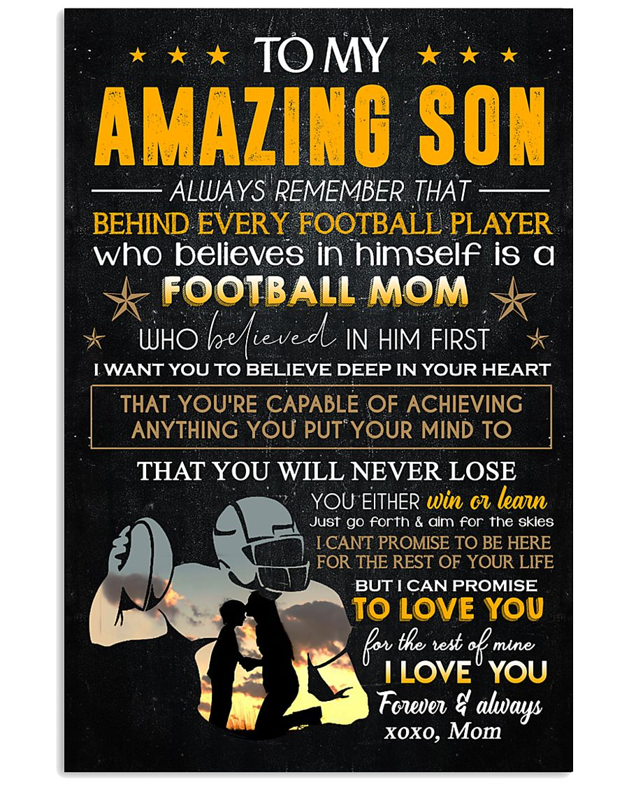 MOM TO SON 16x24 Poster