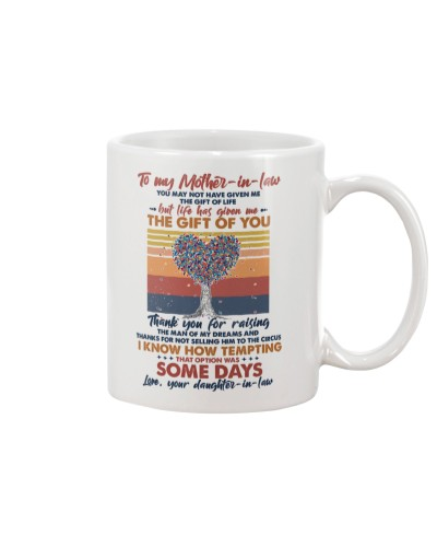 MUG - TO MY MOTHER-IN-LAW - TREE