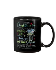 TO MY DAUGHTER-IN-LAW - HUMMINGBIRD - CIRCUS Mug front