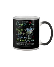TO MY DAUGHTER-IN-LAW - HUMMINGBIRD - CIRCUS Color Changing Mug thumbnail