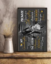 Grandpa to Granddaughter - i Hope You Dance 16x24 Poster lifestyle-poster-3
